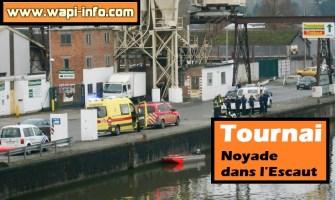 Tournai : noyade dans l'Escaut ce mardi
