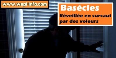 Basécles : réveillée en sursaut par des voleurs