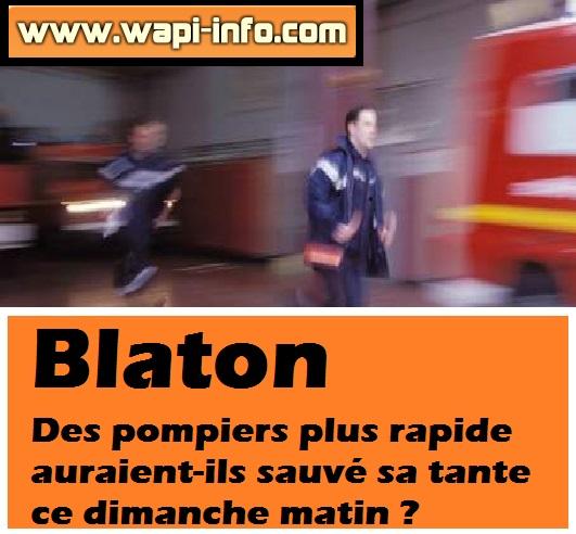 blaton pompiers