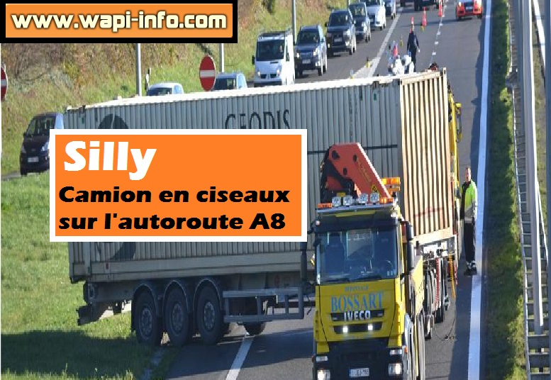 camion ciseaux silly a8