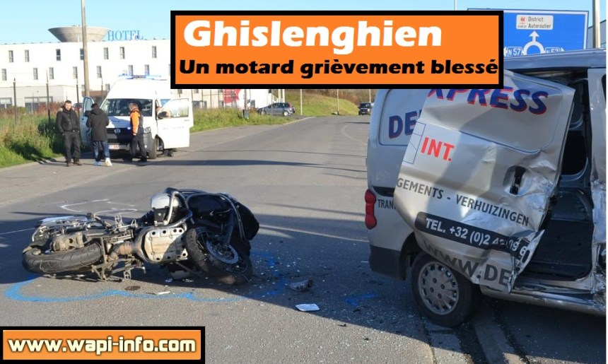 motard accident