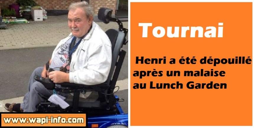 Henri vol lunch garden