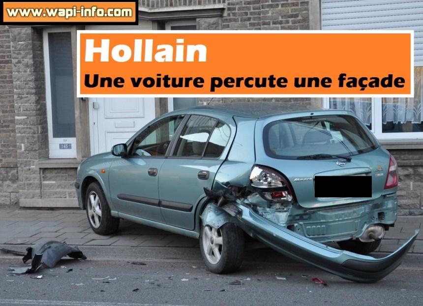 Hollain accident facade