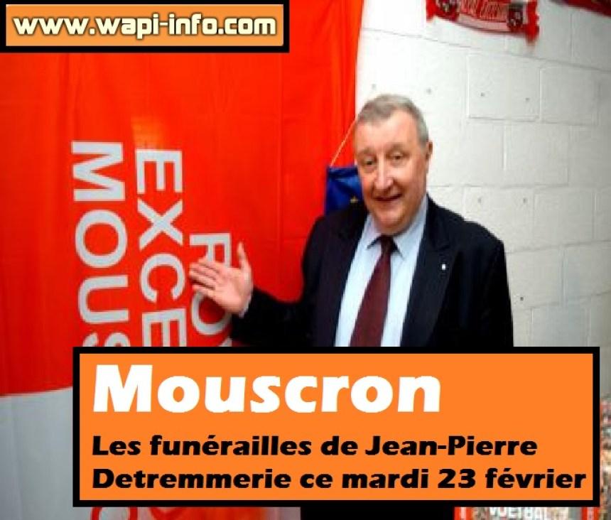 Jean Pierre Detremmerie funerailles