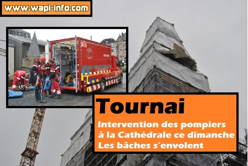 Tournai intervention cathedrale