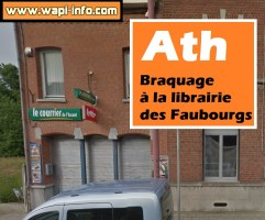 Ath : braquage à la librairie des Faubourgs