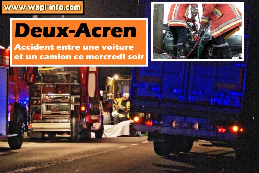 deux acren accident