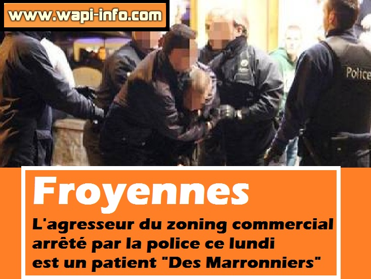 froyennes agression zoning commercial marronniers