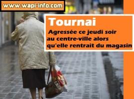 Tournai : agressée au centre-ville ce jeudi soir alors qu'elle rentrait du magasin
