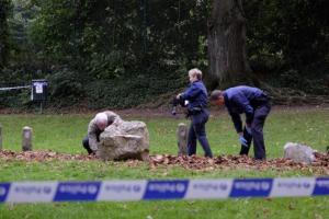 Tournai : macabre découverte dans le parc face aux Bastions