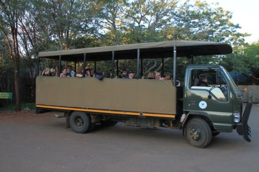 20 seater Kruger Safari vehicle