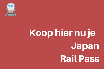 Boek hier nu je Japan Rail Pass