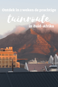 tuinroute Zuid Afrika
