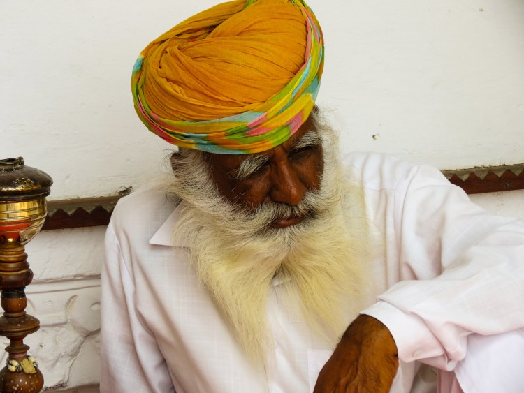 Indian man in traditional clothing