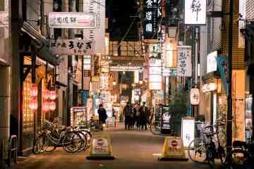 Dotonbori Osaka at night