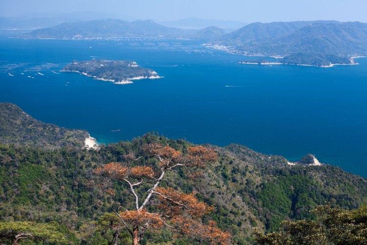 Mt Misen view Miyajima, Japan