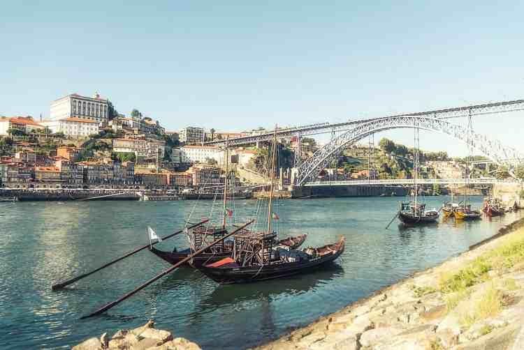 Porto, city of bridges, Portugal