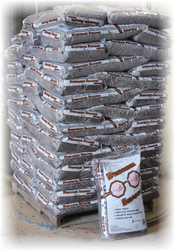 Designer Shades of brown mulch image