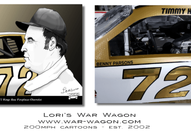 Benny Parsons Tribute at Darlington