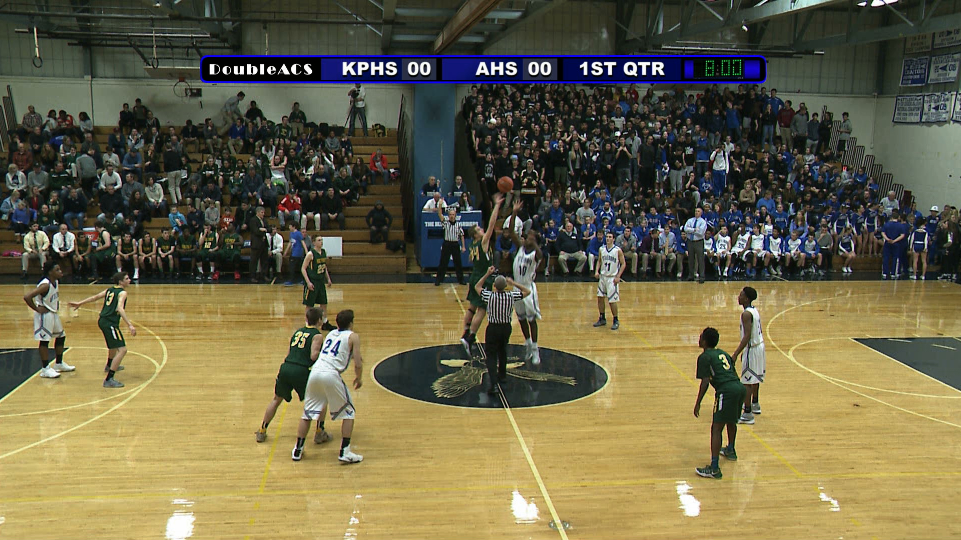 Boys Basketball: Mansfield vs Attleboro