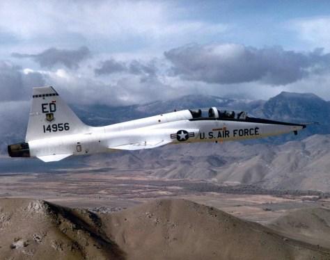 The Northrup T-38 Talon