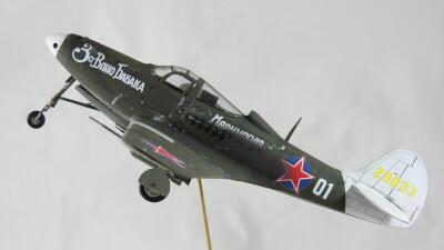 Maquette Davion De Airacobra P 39N Russian Airacobra Modle 41 Warbirds Family