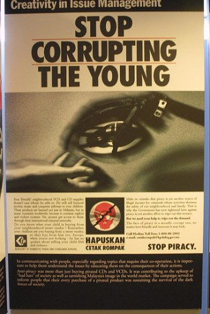 Stop Corrupting the Young Piracy