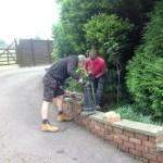 Installing Victorian Lamp Posts