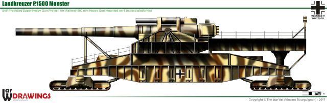 Image result for landkreuzer p. 1500 ratte