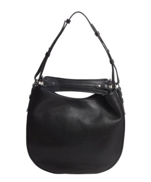 Givenchy Black Leather 'Obsedia' Medium Hobo Shoulder Bag $1290 Bluefly