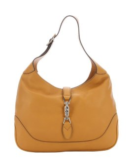 Gucci Mustard Leather 'Jackie' Shoulder Bag $997 Bluefly