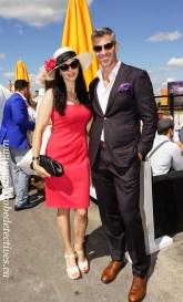 Anastasia and Rob Barrett, Packwood Grand 2015 style