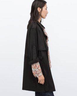 Zara cotton cape 39.99 CAD