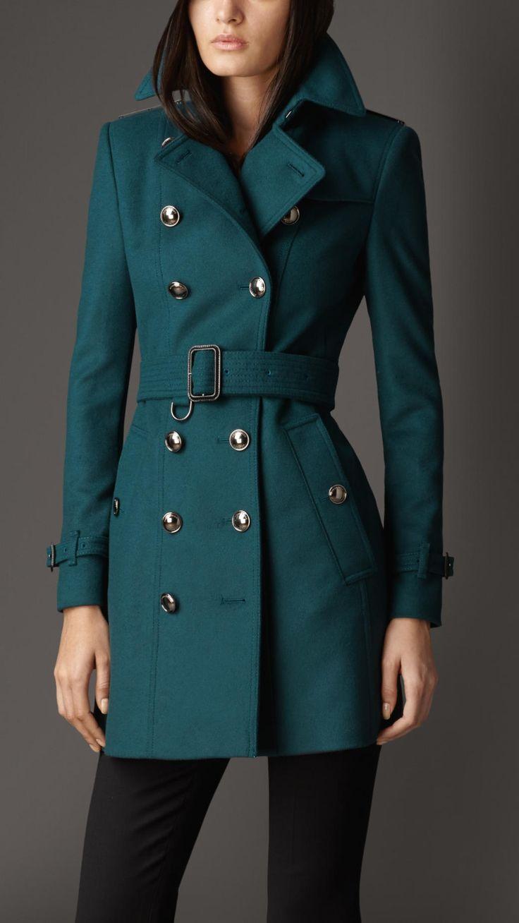 Teal Trench Coat Wardrobe Mag