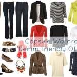 Ask Allie: Denim-based Office Capsule Wardrobe