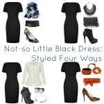 Ask Allie: Styling a Not-so Little Black Dress
