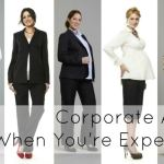 Ask Allie: Corporate Attire When You're Expecting