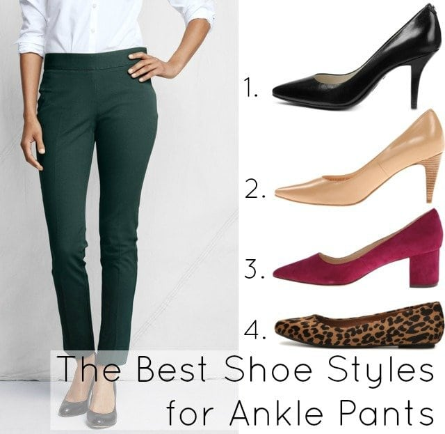 Wardrobe Oxygen Ask Allie: What Shoes Look Best with Ankle Pants?