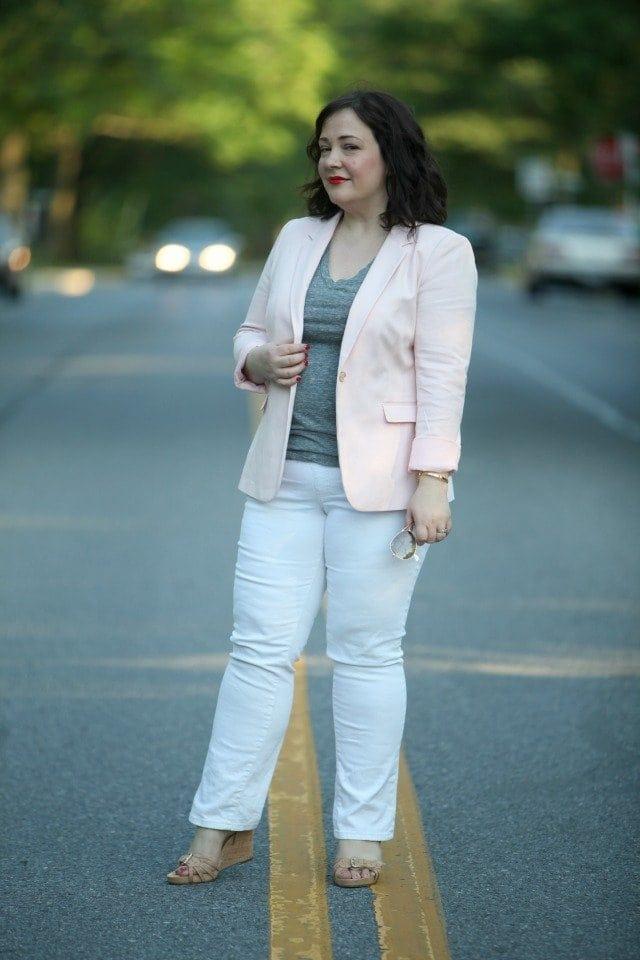 vince camuto taffy pink jacket