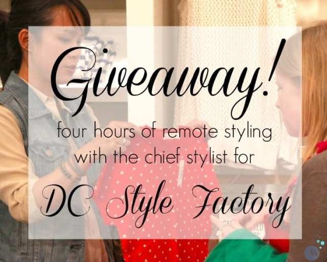 Wardrobe Oxygen Giveaway - Win Four Hours of Remote Styling with DC Style Factory