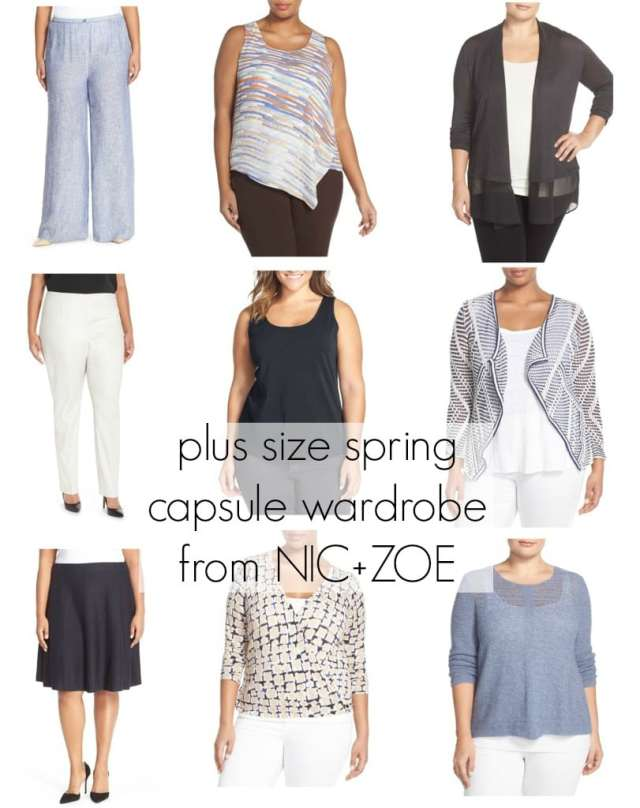 Wardrobe Oxygen: Plus Size Spring Capsule Wardrobe from NIC+ZOE at Nordstrom