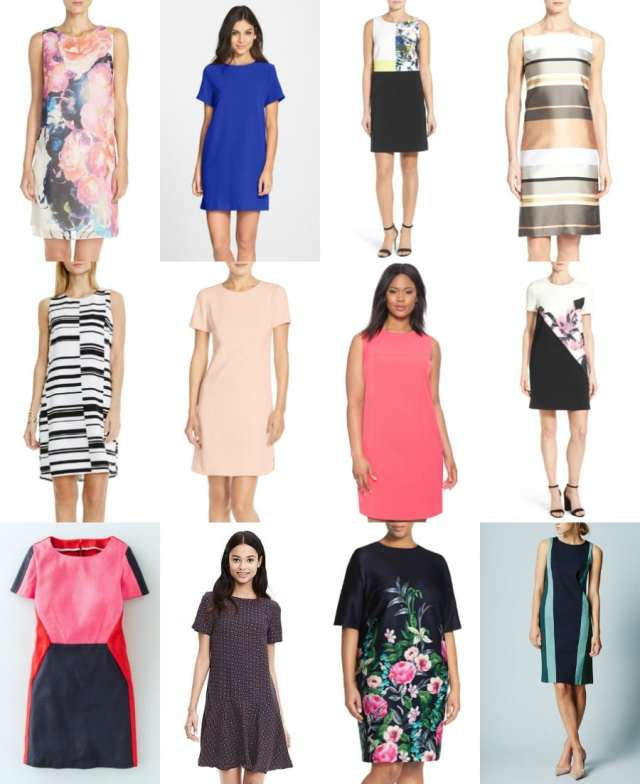 shift dresses for spring and summer - wardrobe oxygen