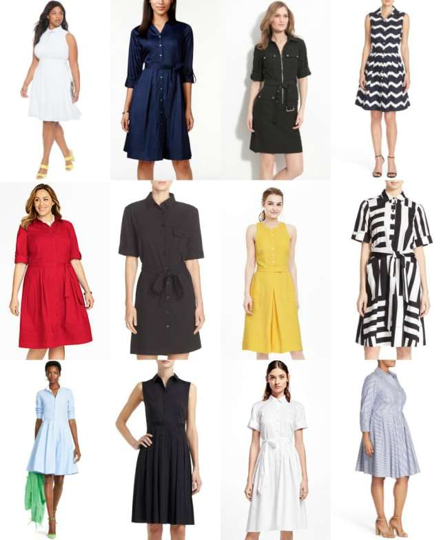 shirtdresses for spring and summer - wardrobe oxygen