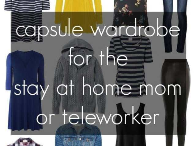 Capsule Wardrobe: Stay at home mom or teleworker by Wardrobe Oxygen