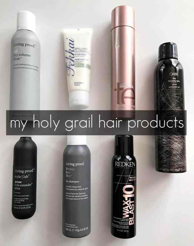 Wardrobe Oxygen: My favorite hair products, great over 40 hair with volume, shine, control