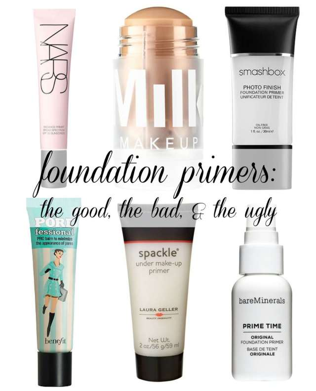 over 40 beauty - foundation primer review by wardrobe oxygen