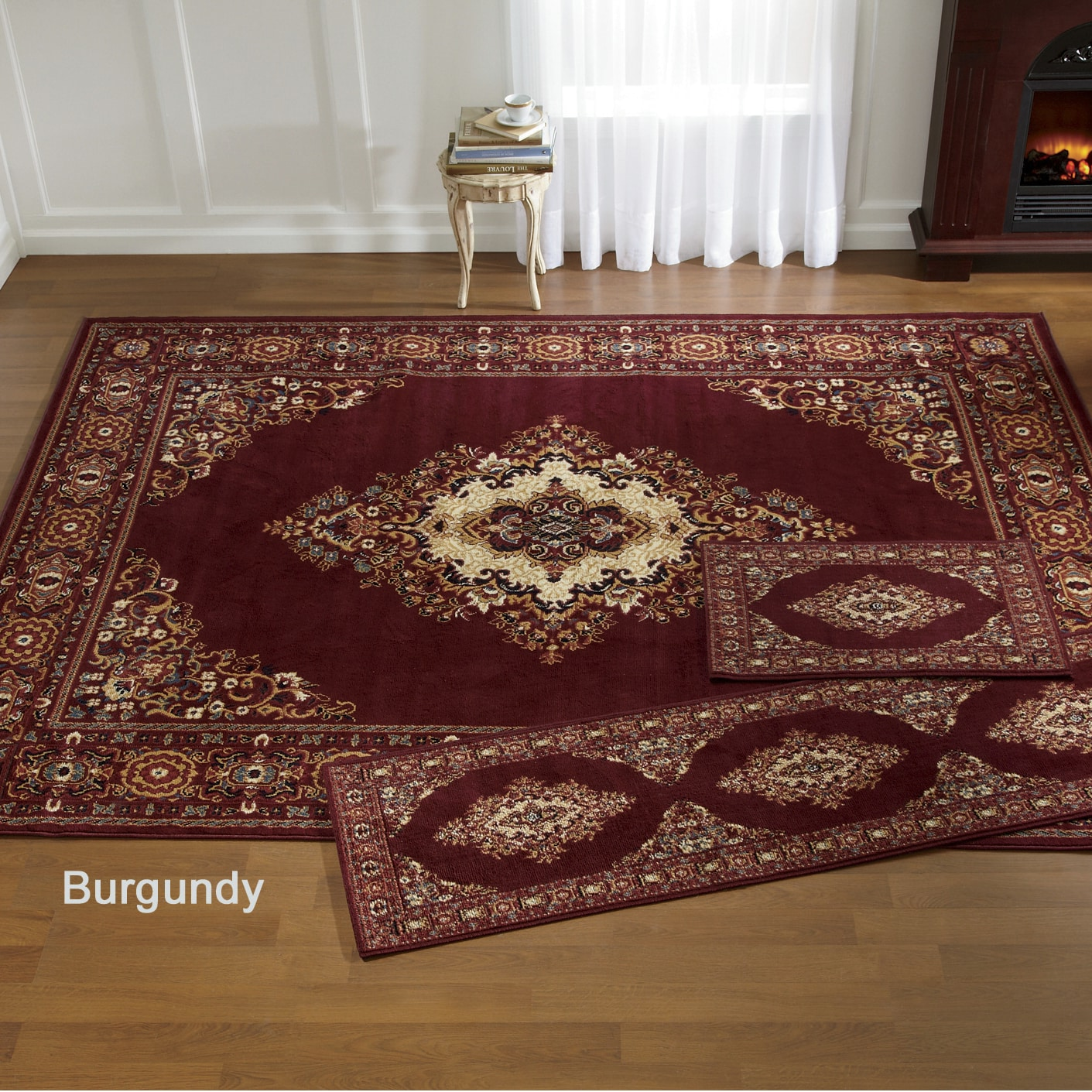 3 piece galiana rug set