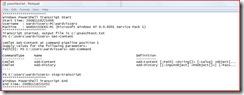 start-transscript