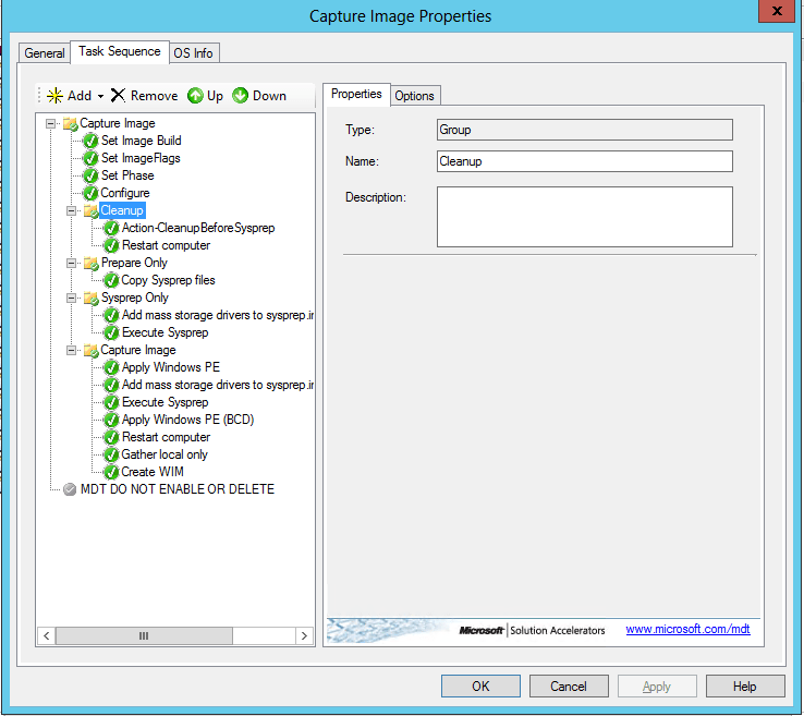 Clean Up your template before Sysprep and Capture a