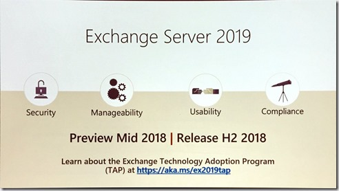 Exchange 2019